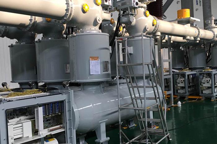 配现代重工500KV-GIS用于内蒙工程