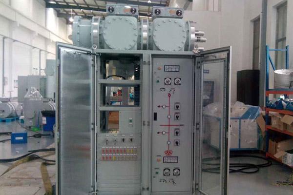 CJ30型单电机三工位机构